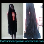 Knee length braids!!!!