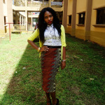 Dress Up: Polka dot & Ankara Print Mix