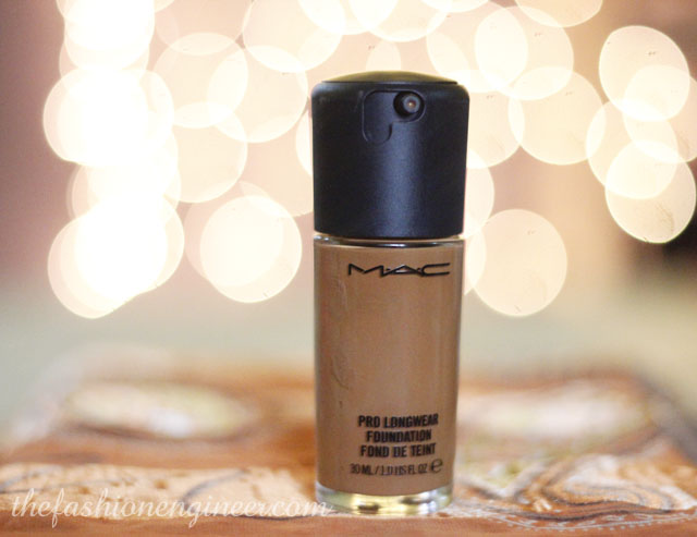 1 mac prolong wear foundation nc50