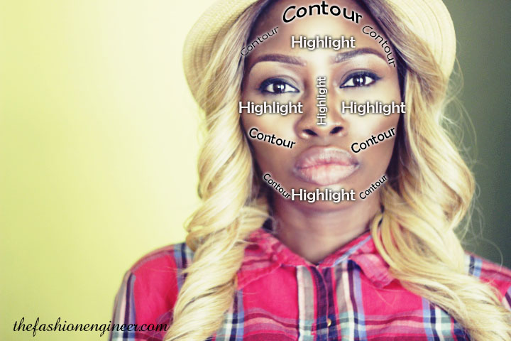 How I Contour and Highlight