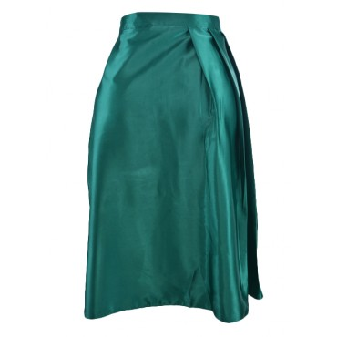 Amarelis Pleated Flare Skirt