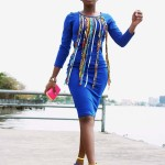 What I Wore: Ankara Fringe Dress