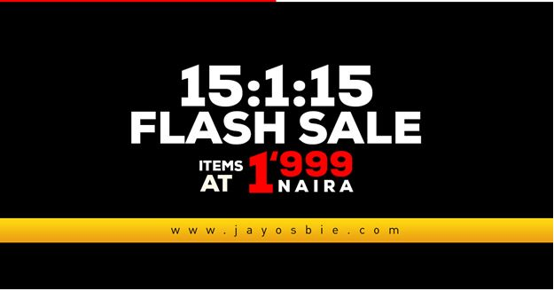 Jay Osbie Flash Sale