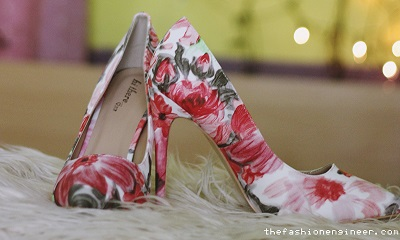Unboxing: Feet Avenue Floral Pumps