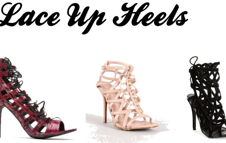 Where to get laceup heels