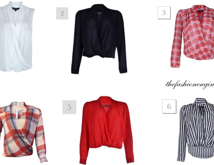 Wardrobe Essentials:Wrap Tops