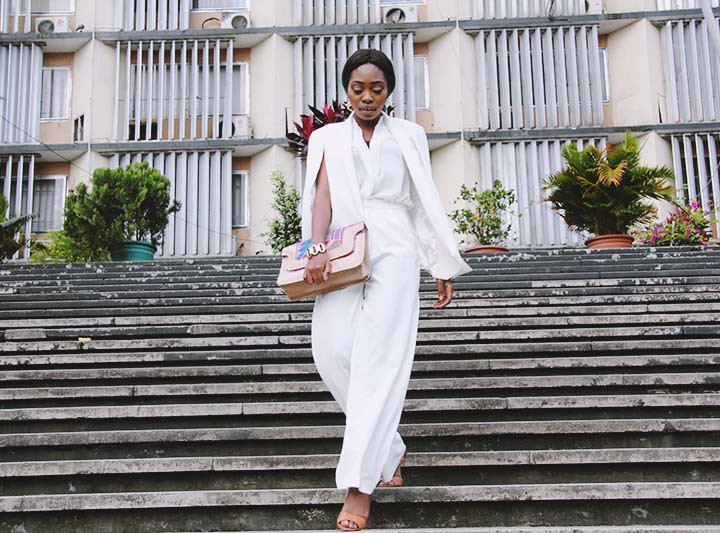 What I Wore: Cape Blazer