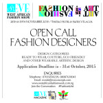 SE West African Fashion Week Designer Open Call