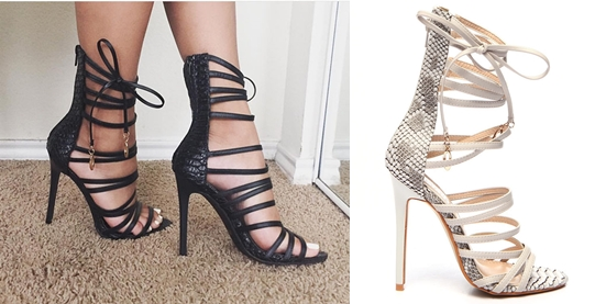 Product of the day: Strappy Heels