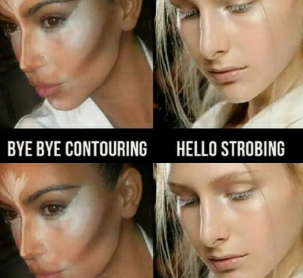 Strobing is the new contouring!