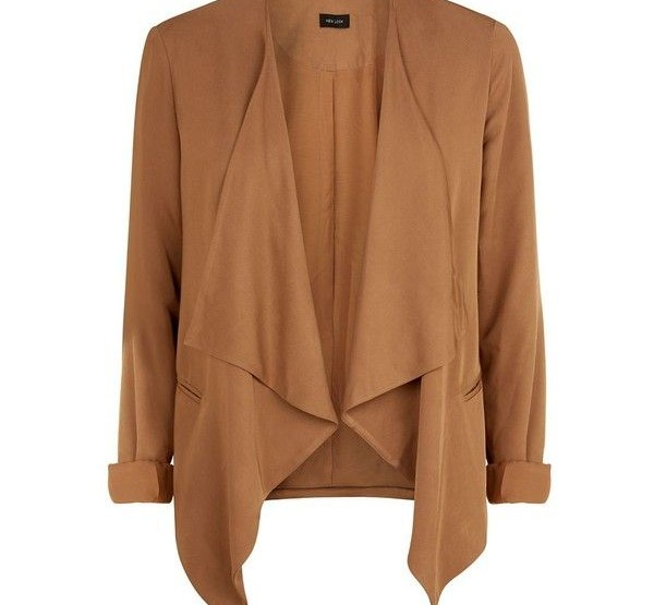 6 Ways to Style the Camel Soft Waterfall Blazer from Jumia