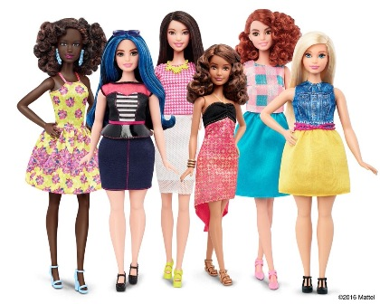The Doll Evolves! Barbie now comes in different skin tones and body types