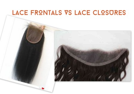 Lace Frontals VS Lace Closures