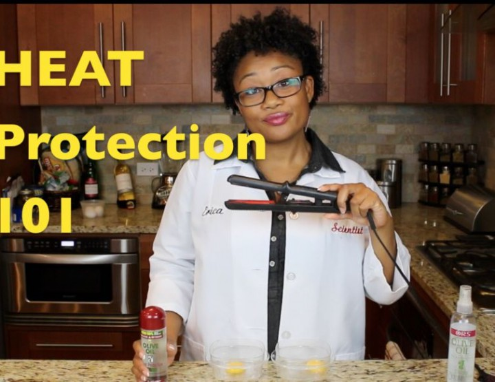 Why heat protectant is very important  for your Hair + video experiment