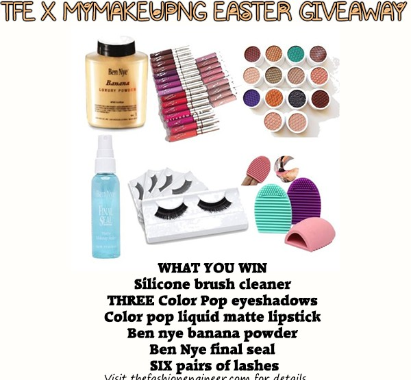 MYMAKEUPNG Easter Giveaway
