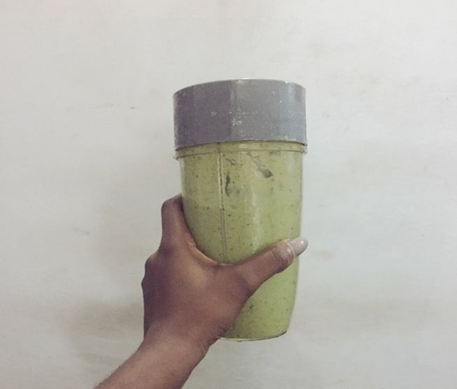 My favourite Green smoothie (Nutribullet Recipe)