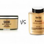 Ben Nye Banana Powder Vs. Sacha  Cosmetics Buttercup Setting Powder