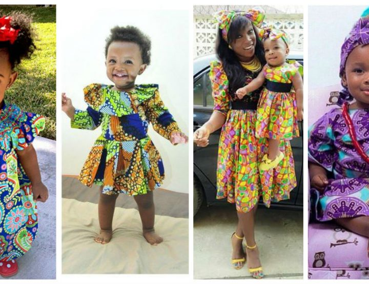 Fashion moms! Check out these Ankara styles for your kids