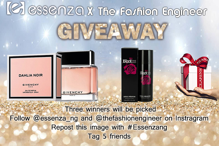 Essenza Fragrances Luxury Giveaway