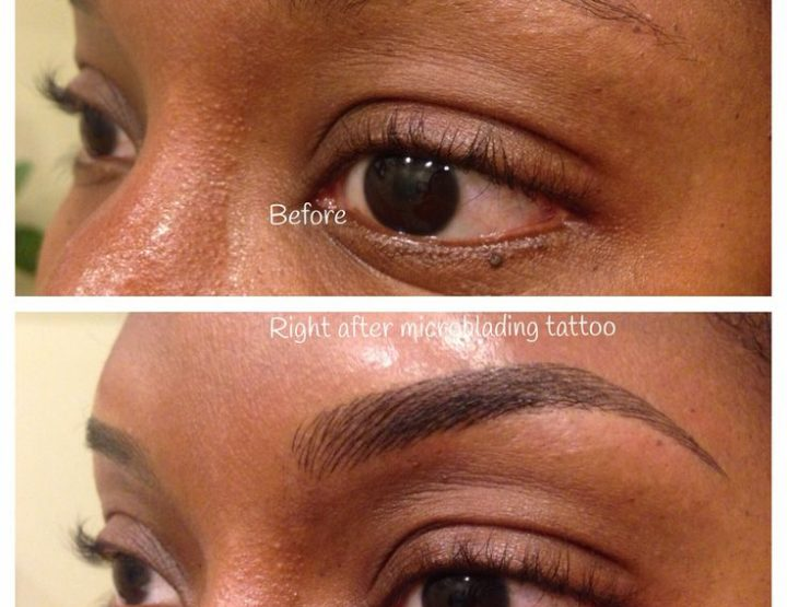 Microblading Eyebrows Trend